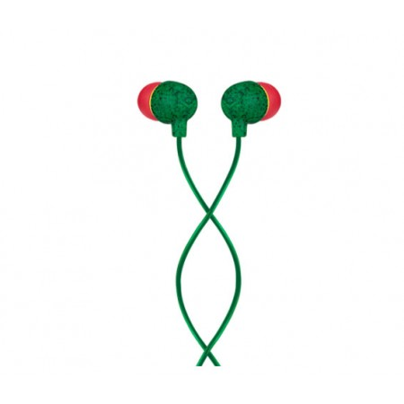 LITTLE BIRD AUDIFONOS VERDE Y ROJO HOUSE OF MARLEY EM-JE061-RA